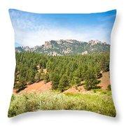 colorado Rockies 13 Throw Pillow