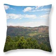 colorado Rockies 9 Throw Pillow