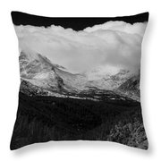 Colorado Rocky Mountains Continental Divide Throw Pillow