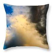 Colorado Skies Throw Pillow