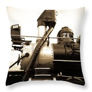 Colorado Southern Railroad 3 Throw Pillow