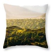 Colorado Springs Throw Pillow