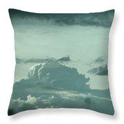 Colorado Storm Throw Pillow