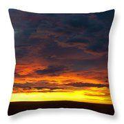 Colorado Sunrise February Throw Pillow