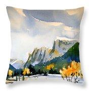 Colorado Winter 5 Throw Pillow