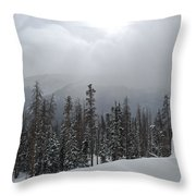 Colorado Winter Peace Throw Pillow