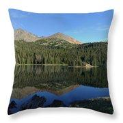 Colorado's Sawatch Range Throw Pillow