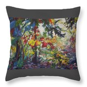 Colorblind Throw Pillow