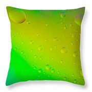 Colored Artistic Background Throw Pillow
