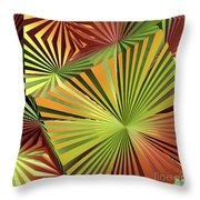 Colored Box Abstract Throw Pillow