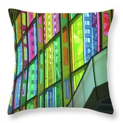 Colored Glass 1 Throw Pillow