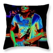 Colored Toppers Throw Pillow