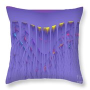 Colorfall Throw Pillow