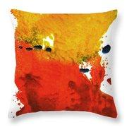 Colorfield Throw Pillow