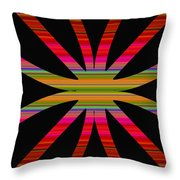Colorful Abstract 11 Throw Pillow