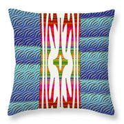 Colorful Abstract 13 Throw Pillow