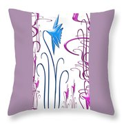 Colorful Abstract 9 Throw Pillow