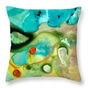 Colorful Art - Soul Shine - Sharon Cummings Throw Pillow