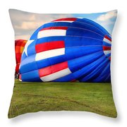 Colorful Balloons Throw Pillow