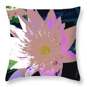 Colorful Beauty Work Number 13 Throw Pillow