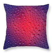 Colorful Bubbles Throw Pillow