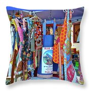Colorful Collection Throw Pillow