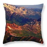 Colorful Colorado Planet Earth Throw Pillow