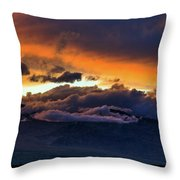 Colorful Culmination Throw Pillow
