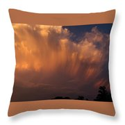 Painting With Clouds, Part 3 Throw Pillow