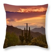 Colorful Desert Skies  Throw Pillow