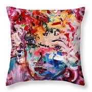 Colorful Expression 12 Throw Pillow