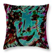 Colorful Expression 15 Throw Pillow
