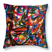Colorful Expression-7 Throw Pillow