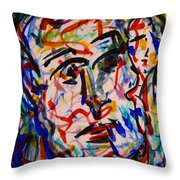 Colorful Expression-8 Throw Pillow