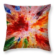 Colorful Expression-9 Throw Pillow