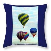 Colorful Four Throw Pillow