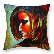 Colorful Galaxy Throw Pillow