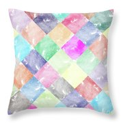 Colorful Geometric Patterns IIi Throw Pillow