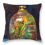 Colorful Jug Throw Pillow