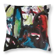 Colorful Landscape1112 Throw Pillow
