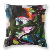 Colorful Landscape1125 Throw Pillow