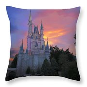 Colorful Magic Throw Pillow