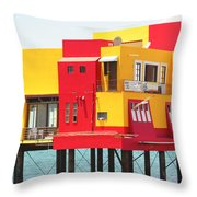 Colorful Mexico Throw Pillow