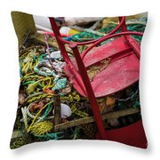 Colorful Pile 1 Throw Pillow