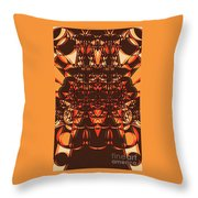 Colorful Pinball Wizardry Throw Pillow