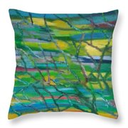 Colorful Roots Throw Pillow