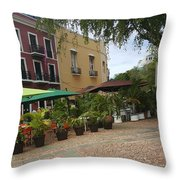 Colorful Scenery  Throw Pillow