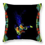 Colorful Slide Playing Throw Pillow