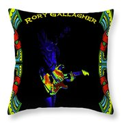 Colorful Slide Playing By Rory Throw Pillow