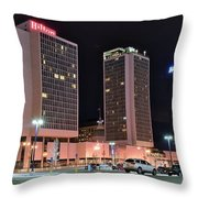 Colorful St Louis Night Throw Pillow